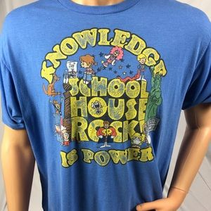 "School House Rock ""knowledge Is Power"" Ripple"